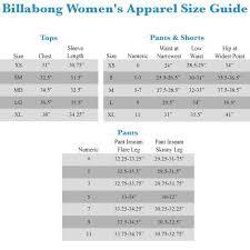 49 Symbolic Billabong Women Wetsuit Size Chart