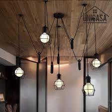 large pendant lighting. Large Pendant Lights Black Iron Industrial Lighting Bar Office Living Room  Kitchen Island LED Light Antique Large Pendant Lighting