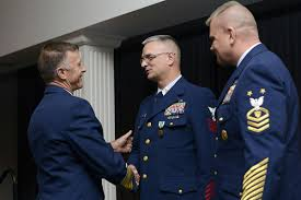 Uscg Reserves Coast Guardsman Honored As Top Reserve Enlisted Person For 2015