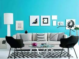 turquoise wall paint living room with grey sofa and black side chairs interior colors for interiors turquoise wall