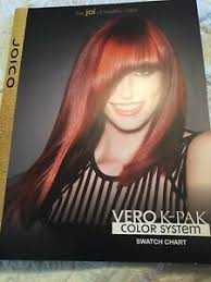 Details About Joico Vero K Pak Color Chart Tech Guide Color New