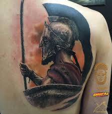 Tattoo Artist Viktor Kalinich Sparta Forever One Session More 7