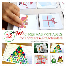 Big Collection of Free Preschool Printables for School and Home