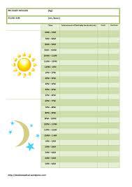 Fluid Intake Chart Printable Fluid Chart Deakin Med Presents