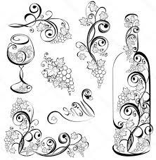 gvine vector art vector wine glass design gvine clipart common vnzfec