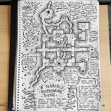 art a terrible burrowing thing dungeon mapart  on map wall art reddit with art a terrible burrowing thing dungeon map dnd