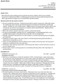 auto sales resume samples auto sales resume resume