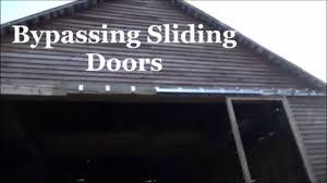 bypass sliding garage doors. Bypassing Sliding Doors This Old Barn/Shop Bypass Garage E