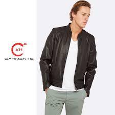 china xh garments cool guys leather jacket china leather jacket skiing jacket