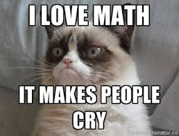 Create your own images with the Grumpy Cat hates math meme ... via Relatably.com