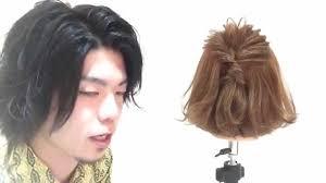 ボブでねじって留めるだけの簡単ワンポイントヘアアレンジボブの方必見