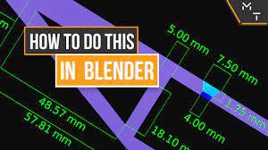 How to : Setup Blender into millimetres (mm) - Blender Tutorial - YouTube