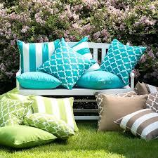 turquoise outdoor pillows garden turquoise outdoor cushions turquoise outdoor lumbar pillows