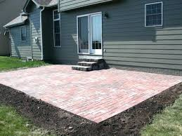 brick paver patio cost brick patio cost of crafts home house intended for estimated cost to install brick paver patio cost estimate for brick paver patio