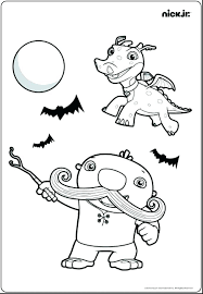 Nick Junior Coloring Pages Stockware