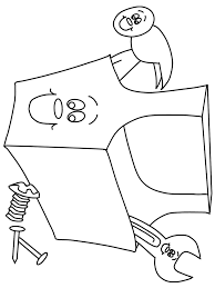 toolbox2 construction coloring pages coloring book coloring book hammer construction coloring pages coloring book kids coloring on hammer coloring page