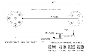 kenwood speaker mic wiring diagram wirdig