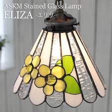 stained glass pendant light fls are lovely stylish antique lamp eliza3 eliza yellow handmade glass