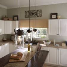 cottage pendant lighting. Allen Roth Vallymede Aged Bronze Country Cottage Mini Clear Pendant Lights Lighting H