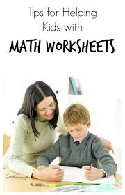 Math worksheets  Kid and Homework on Pinterest Homework Help for Math Worksheets   Steps for supporting kids as they complete math worksheets and