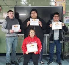 E.A.G.L.E. Center students boost literacy with Achieve 3000   West River  Eagle