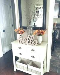 entry hall table. Entry Hall Table Decor Front Ideas I