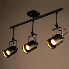 wall track lighting. Ceiling Light Track Loft Led Lamp Retro Industrial Spot . Wall Lighting