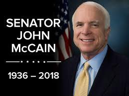 「senator mccain died」の画像検索結果