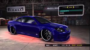 Midnight Club LA: Let's Tune ! - Chevrolet Cobalt SS - Tuning ...