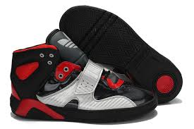 adidas shoes high tops red and black. adidas roundhouse mid men shoes black silver red high tops and