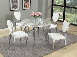 glass top round dining table. Glass Top Kitchen Table Sets Luxury White Dining Round Set 6