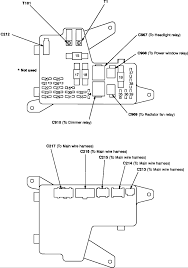 honda accord fuse box diagram image where can i a fuse diagram for a 92 accord on 1992 honda accord fuse