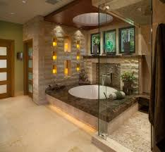 Contemporary Candles Bathroom Contemporary With Beige Wall Dark - Candles for bathroom