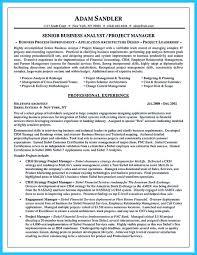 Ict Business Analyst Resume Business Analyst Resume Intelligence