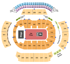 Atlanta State Farm Arena Seating Chart Philips Arena Sections