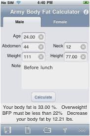 Marine Corps Taping Chart 18 Comprehensive Usmc Height Weight Calculator