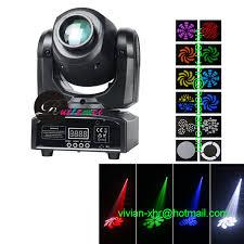 aliexpress com fast china disco dj equipment motorized stage lighting 10w mini spot led moving head lights from reliable lighting mc