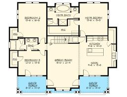 rambler house plans. Plain Plans Attractive 3 Bedroom Rambler  23448JD Floor Plan Main Level To House Plans U