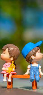 1080x2340 Cute Kid Couple Toy 4k ...
