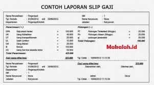 Berikut ini contoh bentuk format slip gaji excel: 6 Contoh Slip Gaji Karyawan Maupun Pegawai Negeri Sipil