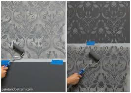 how to blend 2 stencils into 1 design