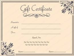 Printable Gift Certificate Templates Printable Gift Certificates Beautiful Custom T Certificate Template