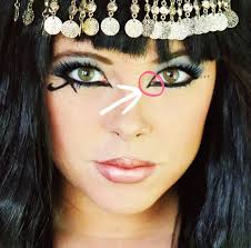 cleopatra makeup tutorial valuable junk from an urban cow