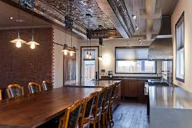 industrial lighting for the home. Designs Ideas:Industrial Dining Room Area With Unique Chairs And Wood Table Also Industrial Lighting For The Home S