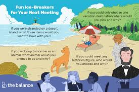 Fun Questions To Use As Ice Breakers In Meetings