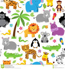 jungle animal background. Exellent Background Download Seamless Tileable Jungle Animal Themed Background Patterns Stock  Vector  Illustration Of Parrot With M