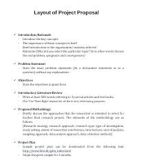 Sample Project Proposal Template Free Haydenmedia Co