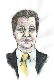 heather mccutcheon illustration nick clegg by heather mccutcheon 2015 as part of the politician portraits series