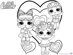 Cute Lol Coloring Pages Free Printable Coloring Pages