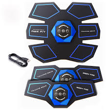 EMS <b>Stimulator</b> Abdominal Muscle Trainer USB Rechargeable ...